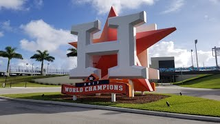 Houston Astros arrive for spring training with some explaining to do