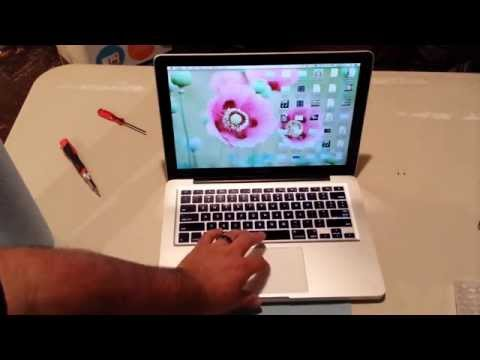 Apple 2009 MacBook Pro Touchpad replacement