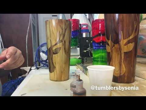 How to layer alcohol ink