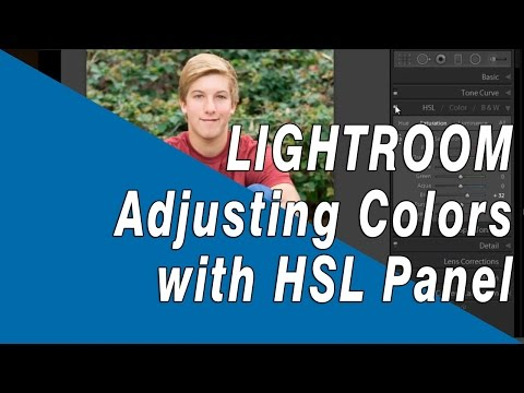 Adobe Lightroom Tutorial: Changing Individual Colors with the HSL Panel