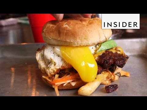 How the Ultimate Hangover Cure Burger Actually Works