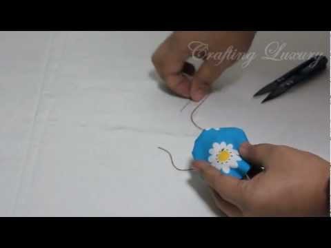 How TO Sew Fabric Yo-Yos in 3 Minutes Flat !