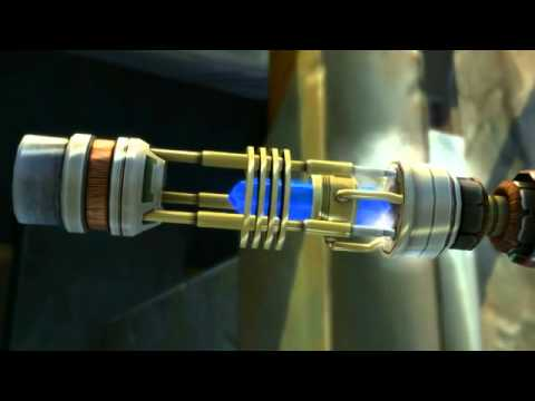 Jedi Building a Lightsaber in SWTOR