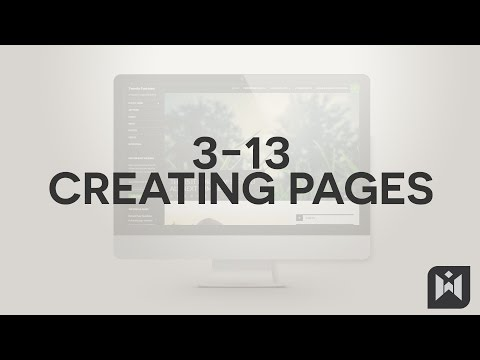WordPress for Beginners 2015 Tutorial Series | Chapter 3-13: Creating Pages