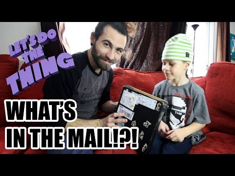 Fun With Fan Mail - Saturdays With The Boys!