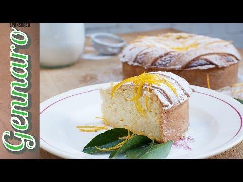 Sweet Rice & Ricotta Tart | Gennaro Contaldo