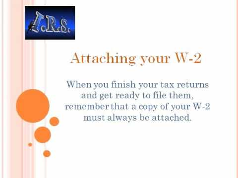 Introduction about IRS Form W-2
