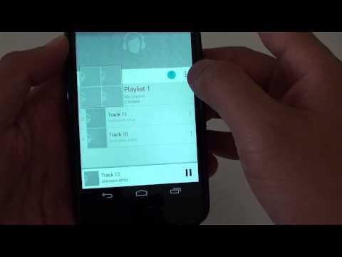 Google Nexus 4: How to Shuffle Songs in Play Music