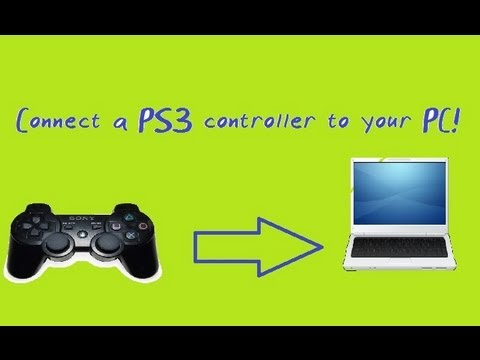 how to connect ps3 controller to pc