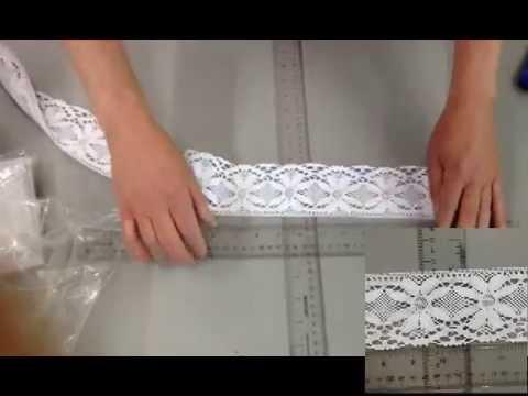 lace  trim  cotton  3 inch hometex ca # C3 6537 775 62
