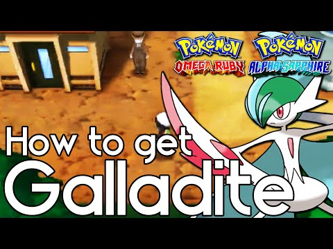 How to Get Galladite – Pokemon Omega Ruby and Alpha Sapphire – Pokemon ORAS How To