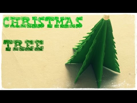 Paper Christmas Tree - Origami Easy