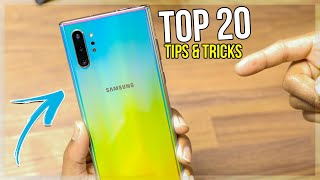 TOP 20 Samsung Galaxy Note 10 Plus Tips Tricks & HIDDEN FEATURES