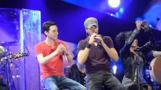 Enrique Iglesias in Tel Aviv - Stand By Me