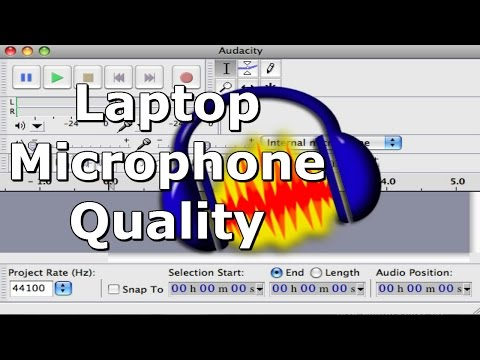 Improve Laptop Microphone Recording Quality with Audacity