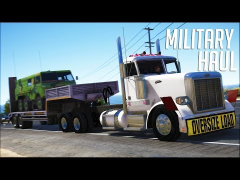 Oversized Military Haul - Los Santos Goes to Work - Day 50