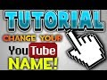 How To Change Your Youtube Username! June 2018 *NEW!!!!*