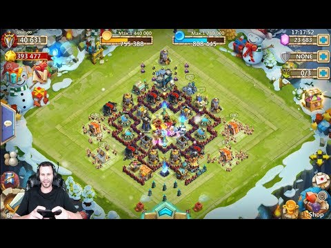 New Account 23000 Gems Rolling Heroes GotttteM Castle Clash