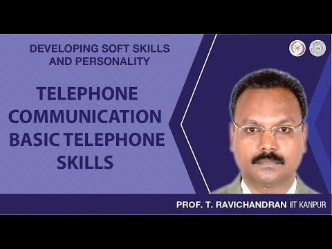 Telephone Communication: Basic Telephone Skills