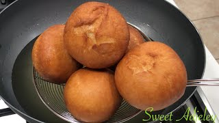 AUTHENTIC GHANA DRY BOFROT | TOOGBEI  | PUFF PUFF RECIPE | BEIGNETS CROUSTILLANTS