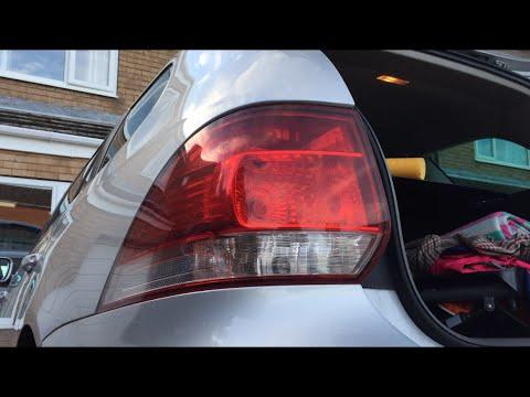 How to change rear brake light bulb VW Golf MK6 (5K)