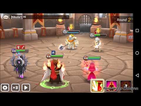 Summoners War Guild Battle Rank 14 v Rank 5