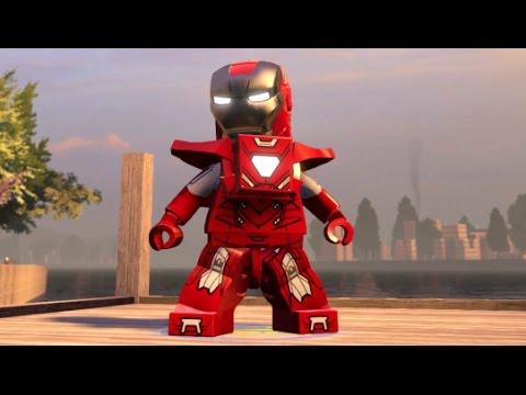 LEGO Marvel's Avengers - Iron Man Mark 33 (Silver Centurion) Unlock + Free Roam (Character Showcase)