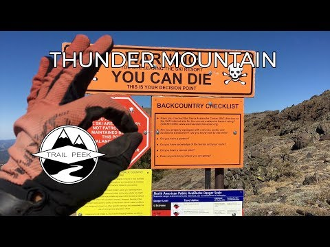 Thunder Mountain EPIC! - Mountain Biking Kirkwood, California