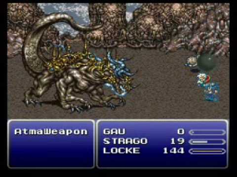 FF6 - Low Level Game Part X: Atma Weapon