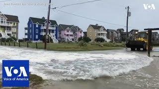 North Carolina Braces for Hurricane Florence Storm Surge