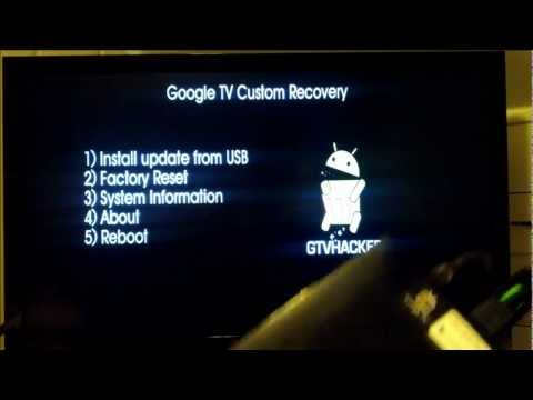Google TV Custom Recovery - What's to come from GTVHacker in 2013