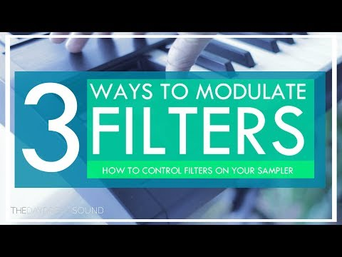 3 Ways to Modulate Ensoniq ASR-10 FILTERS