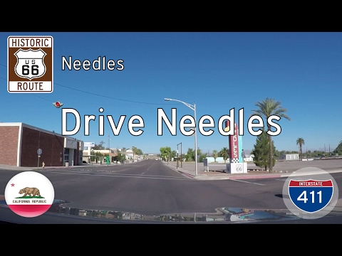 Historic Route 66 - Needles - California | Drive America's Highways 🚙