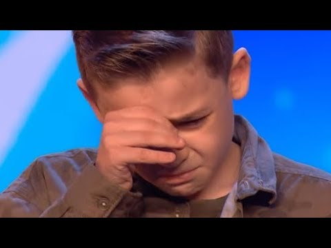 Little Boy Starts to Cry After... :(