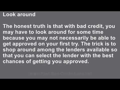 How to Qualify for Personal Loans for People with Bad Credit on the Internet