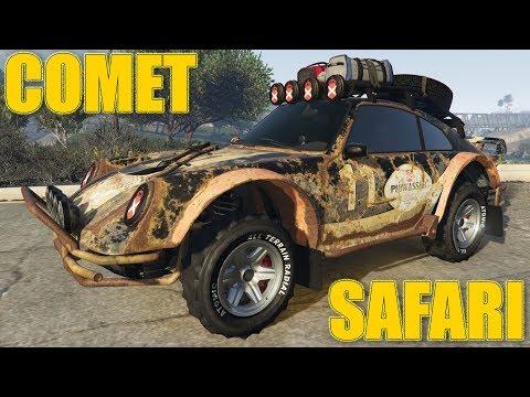 NEW COMET SAFARI : FAVOURITE CAR ! GTA 5 DOOMSDAY HEIST DLC