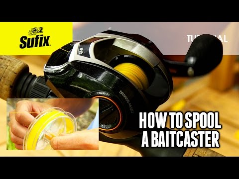 How to spool a baitcaster reel: HOW TO FISH