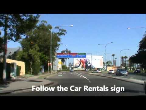 How to return a rental car to Sydney domestic airport