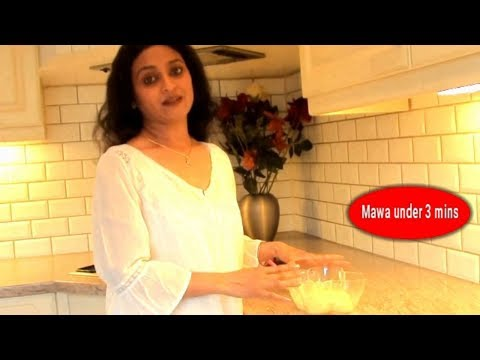Mawa Under 3 mins\ how to make khoya with milk powder\home made Instant mawa recipe in hindi