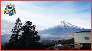 Pokémon GO Travel takes the Global Catch Challenge to Lake Yamanaka, Japan
