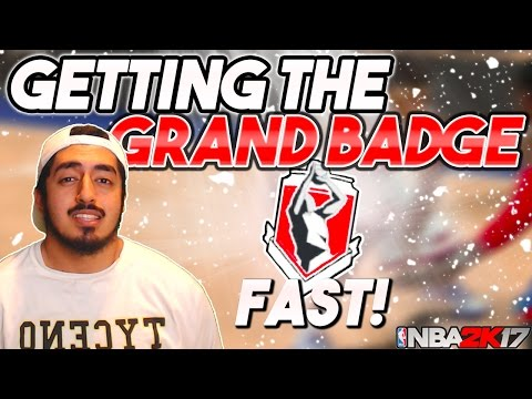 FASTEST WAY TO GET SHOT CREATOR GRAND BADGE in NBA2K17! (CONFIRMED)