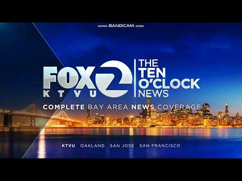 KTVU Fox 2 Ten O'Clock News Saturday open May 26, 2018