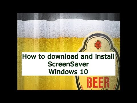 How to download and install ScreenSaver Windows 10