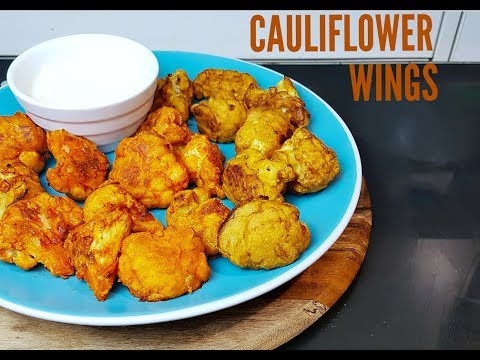 SPICY CAULIFLOWER WINGS - CookingwithKarma
