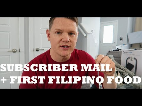 SUBSCRIBER MAIL + BABY'S FIRST FILIPINO FOOD
