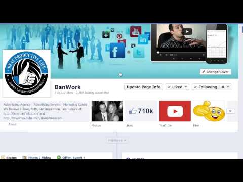 Creating your Facebook business page in 2014 takes less than 5 minutes (Video Tutorial)