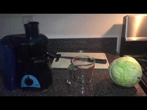 Cabbage Juice Cure for Ulcers