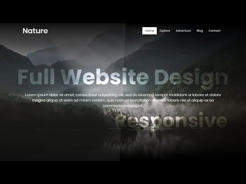 Responsive Website Design using Bootstrap 4   Coming Soon