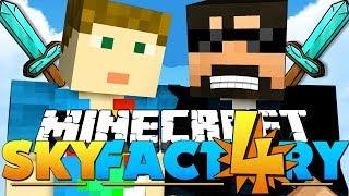 Minecraft: SkyFactory 4 - BEST SWORD EVER!! [32]