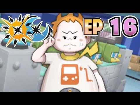 Let's Play Pokémon Ultra Sun & Ultra Moon - Part 16 - The Trial of Captain Sophocles!